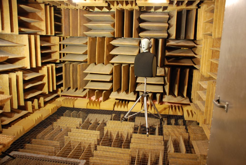 Soundproofing R Us Anechoic Chamber Courtesy of Steve Orfield