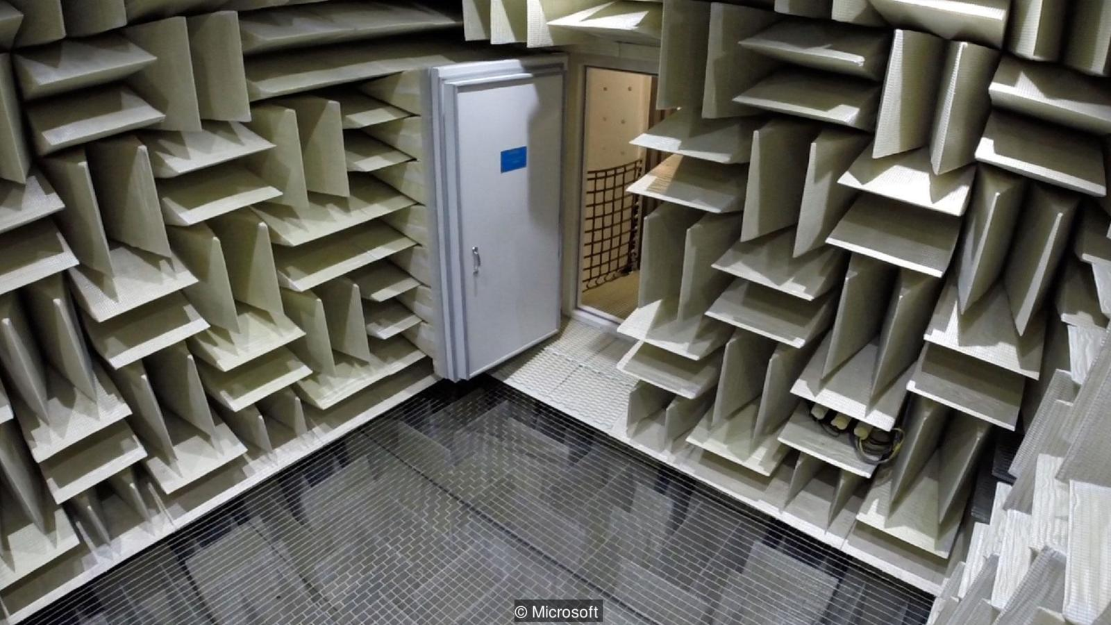 Soundproofing R Us World's Quietest Room Courtesy of Microsoft